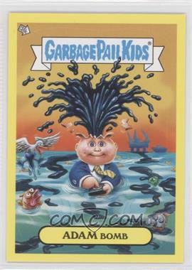 2011 Topps Garbage Pail Kids Flashback Series 2 Adam Mania Yellow #1 - Adam Bomb