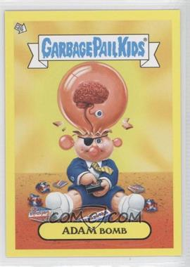 2011 Topps Garbage Pail Kids Flashback Series 2 Adam Mania Yellow #3 - Adam Bomb