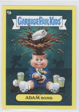 2011 Topps Garbage Pail Kids Flashback Series 2 Adam Mania Yellow #6 - Adam Bomb