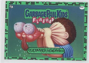 2011 Topps Garbage Pail Kids Flashback Series 2 Gross Green #46b - Fletcher Stretcher