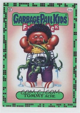 2011 Topps Garbage Pail Kids Flashback Series 2 Gross Green #55b - Tommy Ache