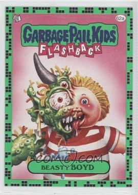 2011 Topps Garbage Pail Kids Flashback Series 2 Gross Green #62a - Beasty Boyd