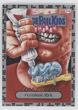 2011 Topps Garbage Pail Kids Flashback Series 2 Silver #64b - Fluoride Ida
