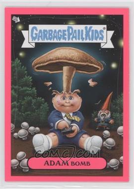 2011 Topps Garbage Pail Kids Flashback Series 3 - Adam Mania - Pink #4 - Adam Bomb