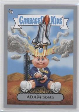 2011 Topps Garbage Pail Kids Flashback Series 3 - Adam Mania - Silver #1 - Adam Bomb