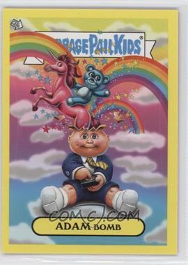 2011 Topps Garbage Pail Kids Flashback Series 3 - Adam Mania - Yellow #10 - Adam Bomb