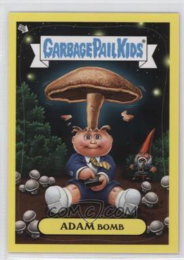 2011 Topps Garbage Pail Kids Flashback Series 3 - Adam Mania - Yellow #4 - Adam Bomb