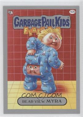 2011 Topps Garbage Pail Kids Flashback Series 3 - [Base] - Silver #42b - Rear View Myra