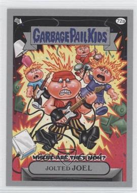 2011 Topps Garbage Pail Kids Flashback Series 3 [???] #72a - Jolted Joel