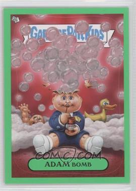 2011 Topps Garbage Pail Kids Flashback Series 3 Adam Mania Green #6 - Adam Bomb