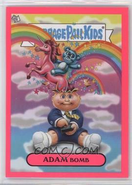 2011 Topps Garbage Pail Kids Flashback Series 3 Adam Mania Pink #10 - Adam Bomb