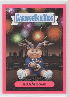 2011 Topps Garbage Pail Kids Flashback Series 3 Adam Mania Pink #5 - Adam Bomb