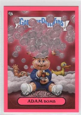 2011 Topps Garbage Pail Kids Flashback Series 3 Adam Mania Pink #6 - Adam Bomb