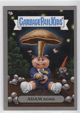 2011 Topps Garbage Pail Kids Flashback Series 3 Adam Mania Silver #4 - Adam Bomb
