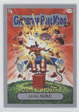 2011 Topps Garbage Pail Kids Flashback Series 3 Silver #30b - Dyna Mike
