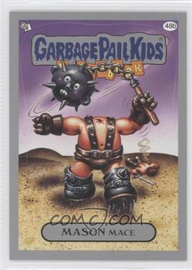 2011 Topps Garbage Pail Kids Flashback Series 3 Silver #48b - Mason Mace