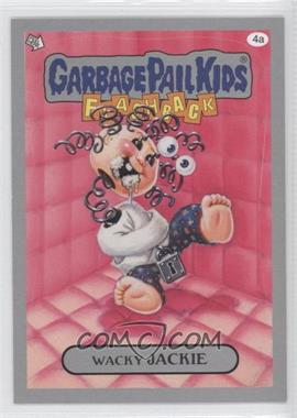 2011 Topps Garbage Pail Kids Flashback Series 3 Silver #4a - Wacky Jackie