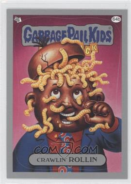 2011 Topps Garbage Pail Kids Flashback Series 3 Silver #64b - Crawlin' Rollin