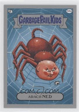 2011 Topps Garbage Pail Kids Flashback Series 3 Silver #68a - Arach Ned