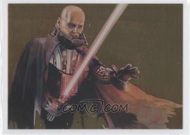 2011 Topps Star Wars Galaxy Series 6 Foil Gold #10 - [Missing] /600