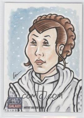 2011 Topps Star Wars Galaxy Series 6 Sketch Cards #N/A - [Missing] /1