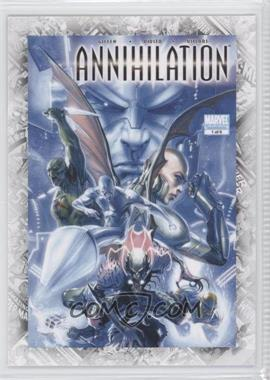"2011 Upper Deck Marvel Beginnings Series 1 - Breakthrough Issues Comic Covers #B-40 - Annihilation #1 (""Blood and Thunder"")"