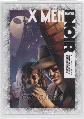 "2011 Upper Deck Marvel Beginnings Series 1 - Breakthrough Issues Comic Covers #B-43 - X-Men Noir #1 (""X Men Noir, Part 1"")"
