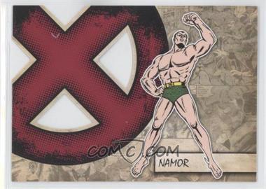 2011 Upper Deck Marvel Beginnings Series 1 - X-Men Die-Cuts #X-31 - Namor