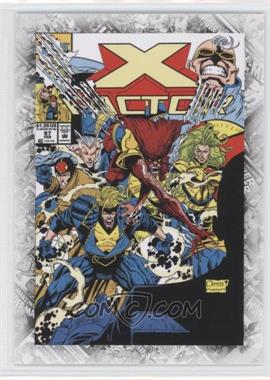 "2011 Upper Deck Marvel Beginnings Series 1 Breakthrough Issues Comic Covers #B-33 - X-Factor Vol. 1 #87 (""X-Aminations"")"
