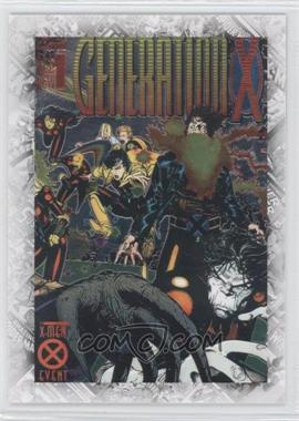 "2011 Upper Deck Marvel Beginnings Series 1 Breakthrough Issues Comic Covers #B-34 - Generation X #1 (""Third Genesis"")"