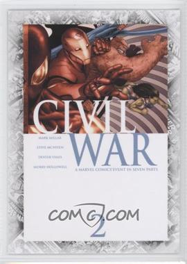 "2011 Upper Deck Marvel Beginnings Series 1 Breakthrough Issues Comic Covers #B-38 - Civil War #2 (""Civil War: Part Two"")"