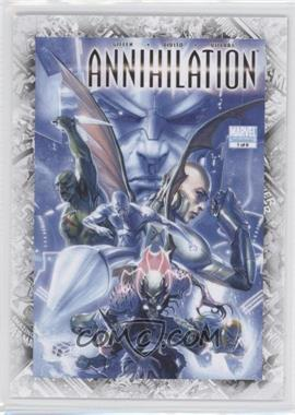 "2011 Upper Deck Marvel Beginnings Series 1 Breakthrough Issues Comic Covers #B-40 - Annihilation #1 (""Blood and Thunder"")"