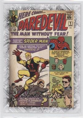 "2011 Upper Deck Marvel Beginnings Series 1 Breakthrough Issues Comic Covers #B-41 - Daredevil Vol. 1 #1 (""The Origin of Daredevil"")"