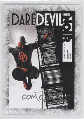 "2011 Upper Deck Marvel Beginnings Series 1 Breakthrough Issues Comic Covers #B-42 - Daredevil Noir #1 (""Liar's Poker"")"