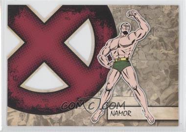 2011 Upper Deck Marvel Beginnings Series 1 X-Men Die-Cuts #X-31 - Namor