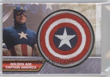 2011 Upper Deck Marvel Studios Captain America The First Avenger Insignia Patches #I-6 - Golden Age Captain America