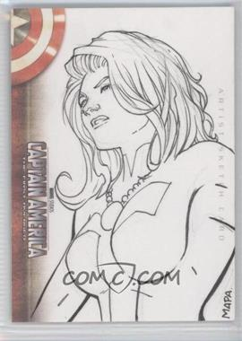 2011 Upper Deck Marvel Studios Captain America The First Avenger Sketches #1 - [Missing] /1