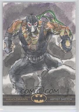 2012-13 Cryptozoic DC Batman: The Legend Sketch Cards #N/A - [Missing]