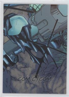 2012-13 Cryptozoic DC Batman: The Legend The Batcave Foil Puzzle #TBC-09 - The Wayne family used the Batcave to help…
