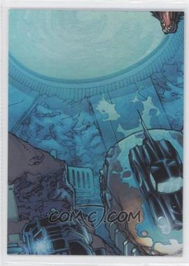 2012 Cryptozoic DC Batman: The Legend The Batcave Foil Puzzle #TBC-04 - The Batcave is home to one of the most powerful…