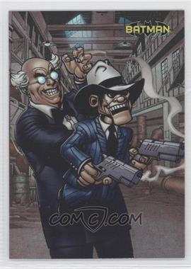 2012 Cryptozoic DC Batman: The Legend #60 - Ventriloquist & Scarface