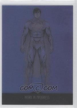 2012 Cryptozoic DC The New 52 Work in Progress #WIP-3 - Superman