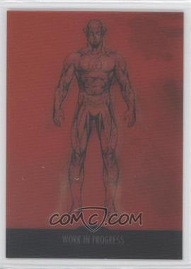 2012 Cryptozoic DC The New 52 Work in Progress #WIP-6 - Flash