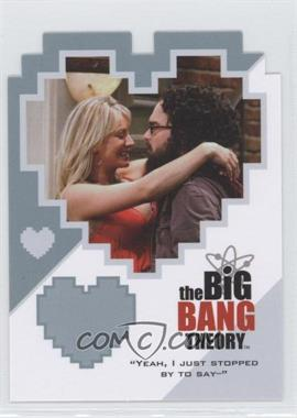 """2012 Cryptozoic The Big Bang Theory Seasons 3 & 4 - Duos #CPL01 - """"Yeah, I Just Stopped By To Say--"""""""