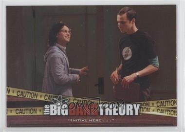 2012 Cryptozoic The Big Bang Theory Seasons 3 & 4 The Elevator #E-03 - [Missing]