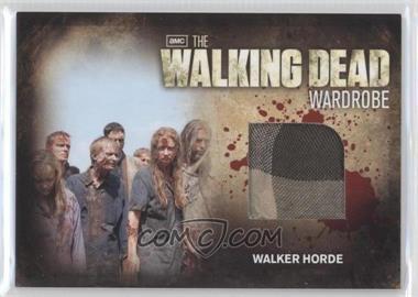 2012 Cryptozoic The Walking Dead Season 2 - Wardrobe #M29 - Walker Horde