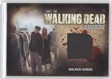 2012 Cryptozoic The Walking Dead Season 2 - Wardrobe #M30 - Walker Horde