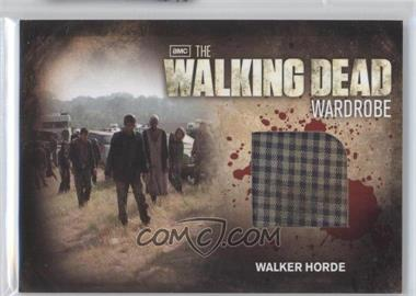 2012 Cryptozoic The Walking Dead Season 2 Wardrobe #M28 - [Missing]