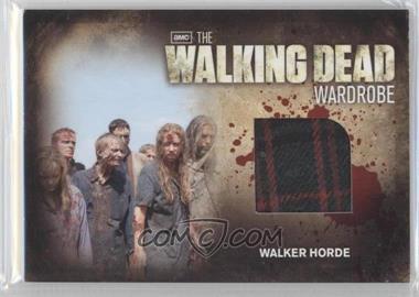 2012 Cryptozoic The Walking Dead Season 2 Wardrobe #M29 - Walker Horde