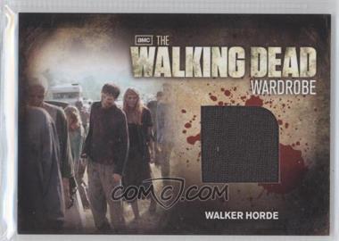 2012 Cryptozoic The Walking Dead Season 2 Wardrobe #M30 - Walker Horde